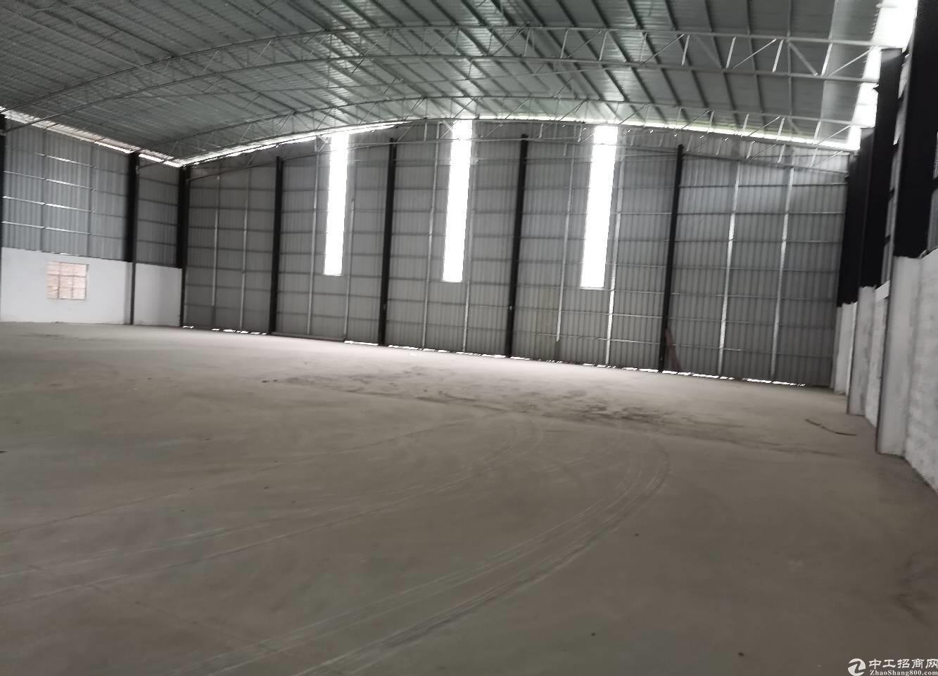 南庄单一层1200平米7米高钢构厂房仓库出租,可进大货车
