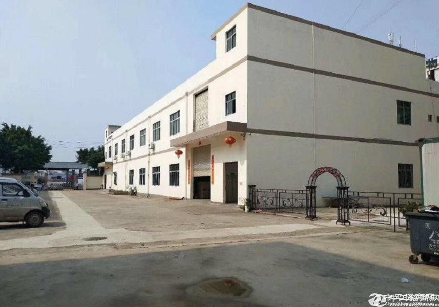 中山石岐工业园3000平原房东厂房仓库出租,可分租可办环评