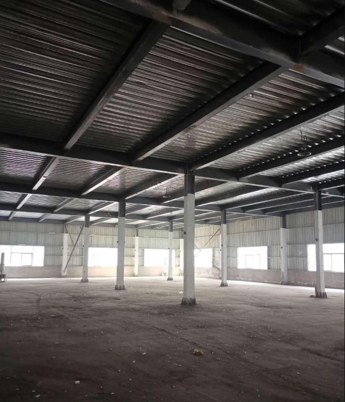 5千平米厂房,框架式结构,上下两层