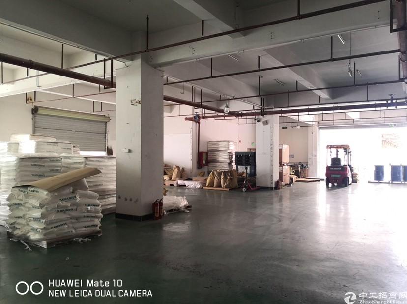 观澜章阁大工业园内,一楼带卸货平台800平方仓