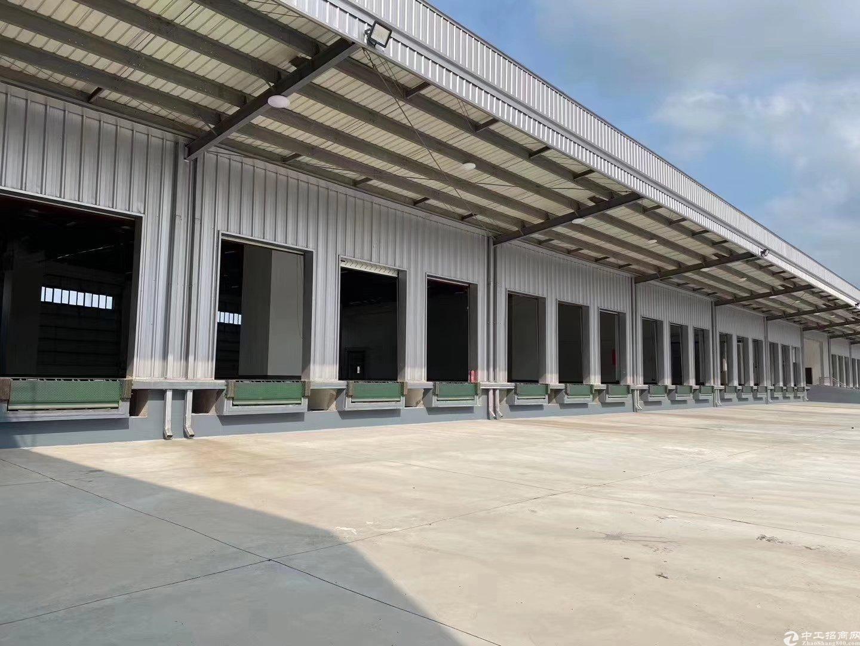 高速出口新出11000平米带卸货平台仓库出租可分租