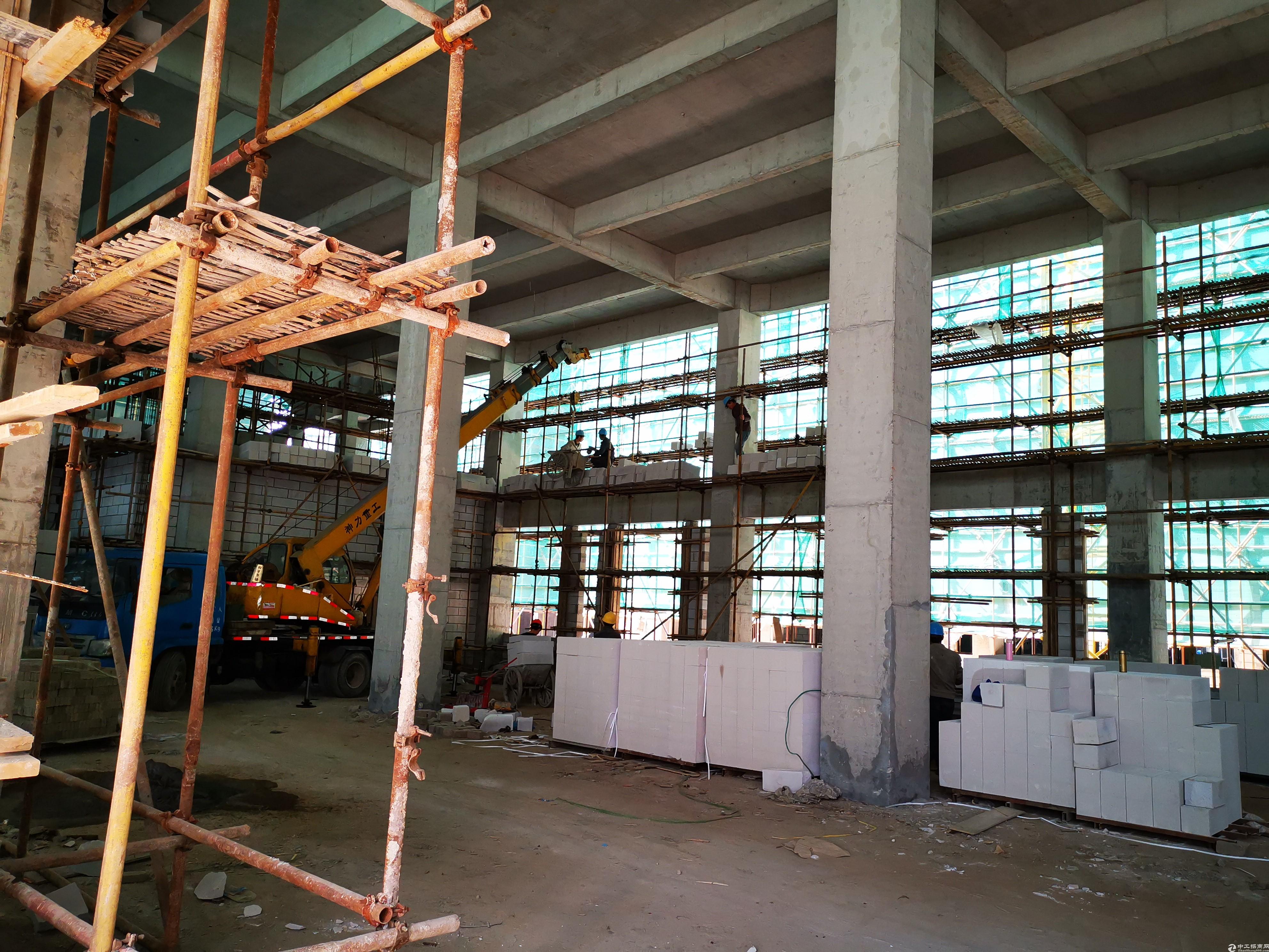 新建厂房环境好大气,1500平50年产权
