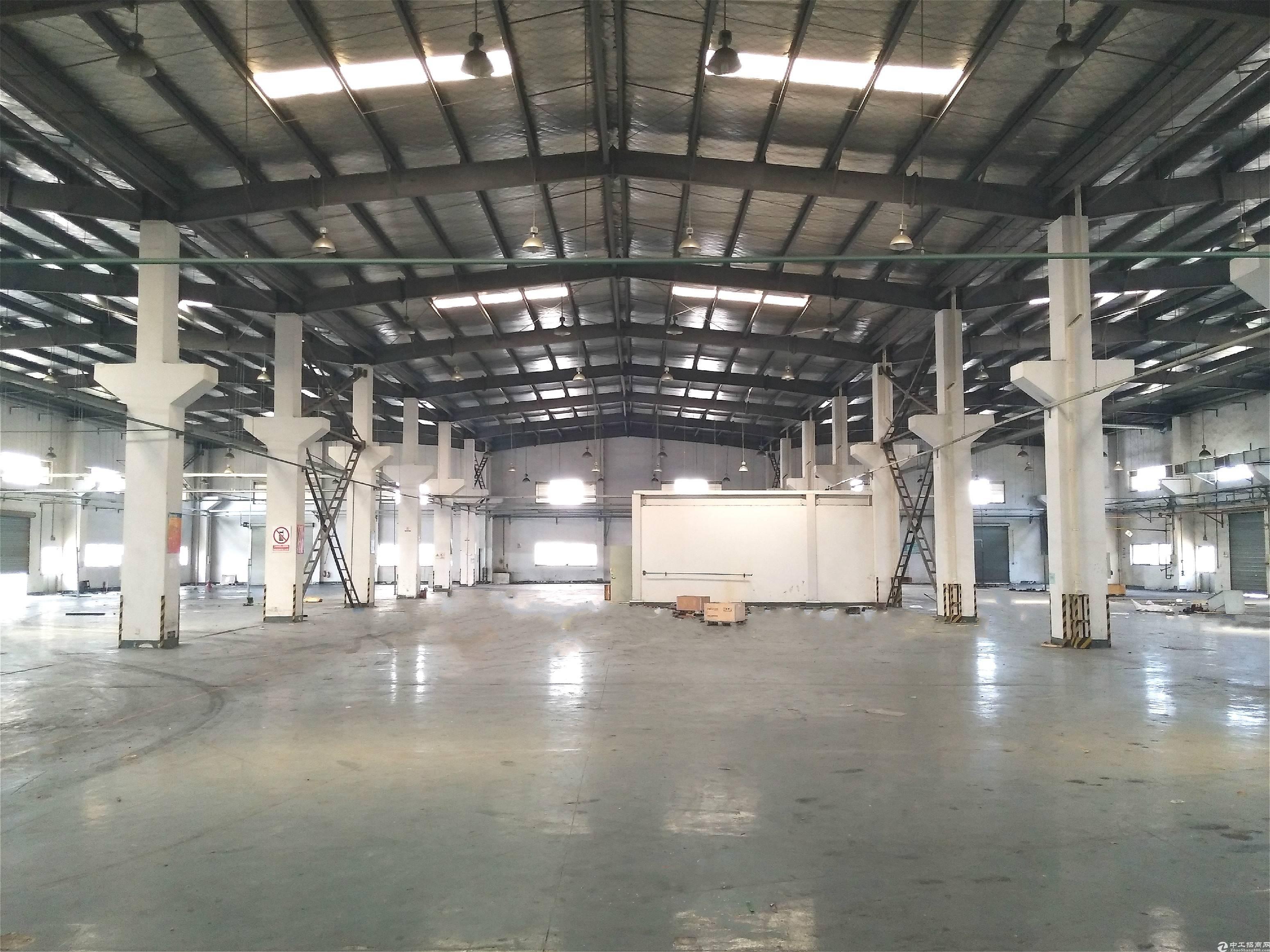 苏州工业园区厂房出租,2300平层高8.6米