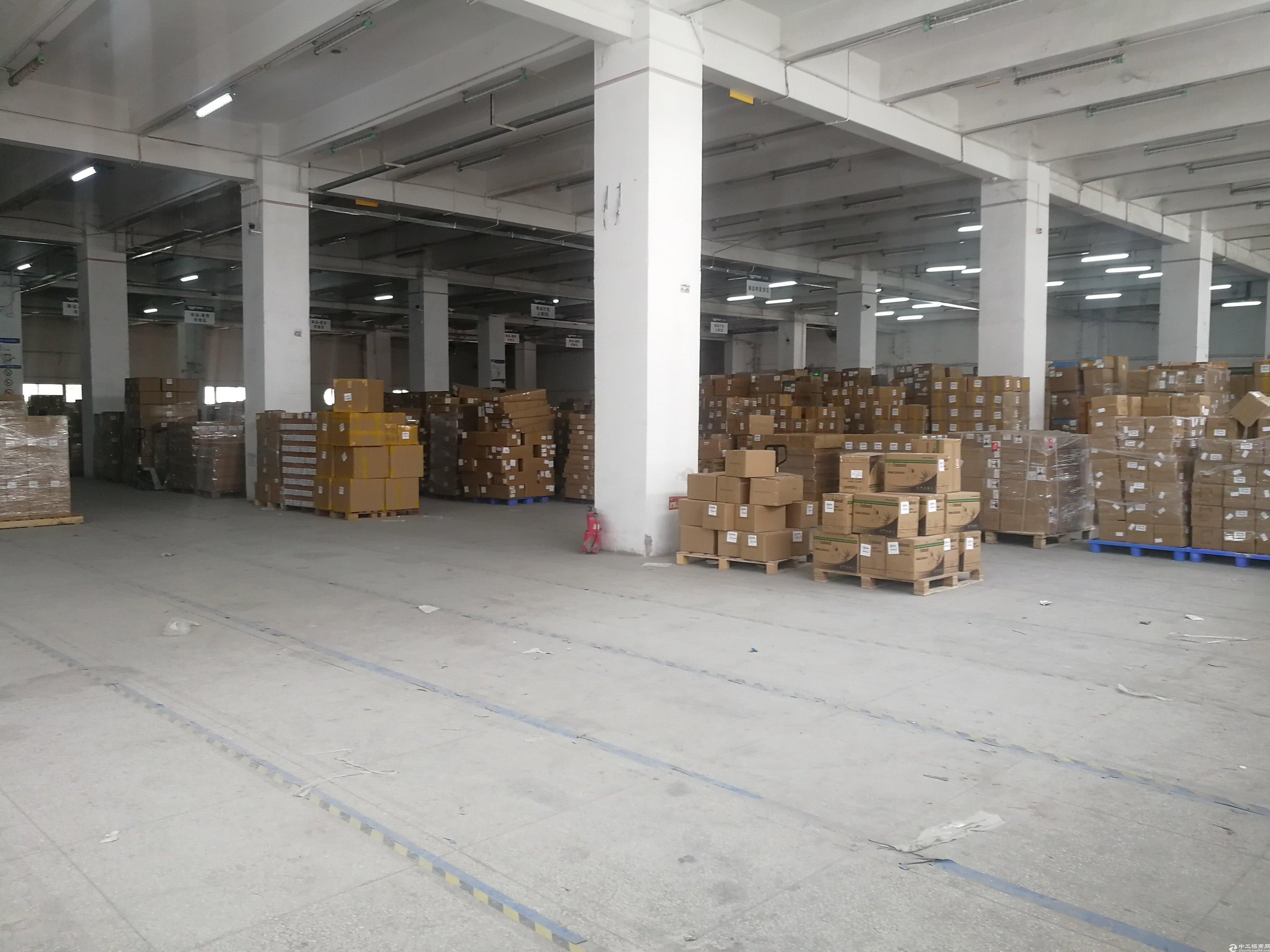 布吉李朗红本万博app官方下载一楼4000平带三面卸货平台出租可分租