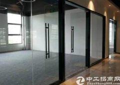 可注册福永地铁口精装修办公室整层1000平方大小分租