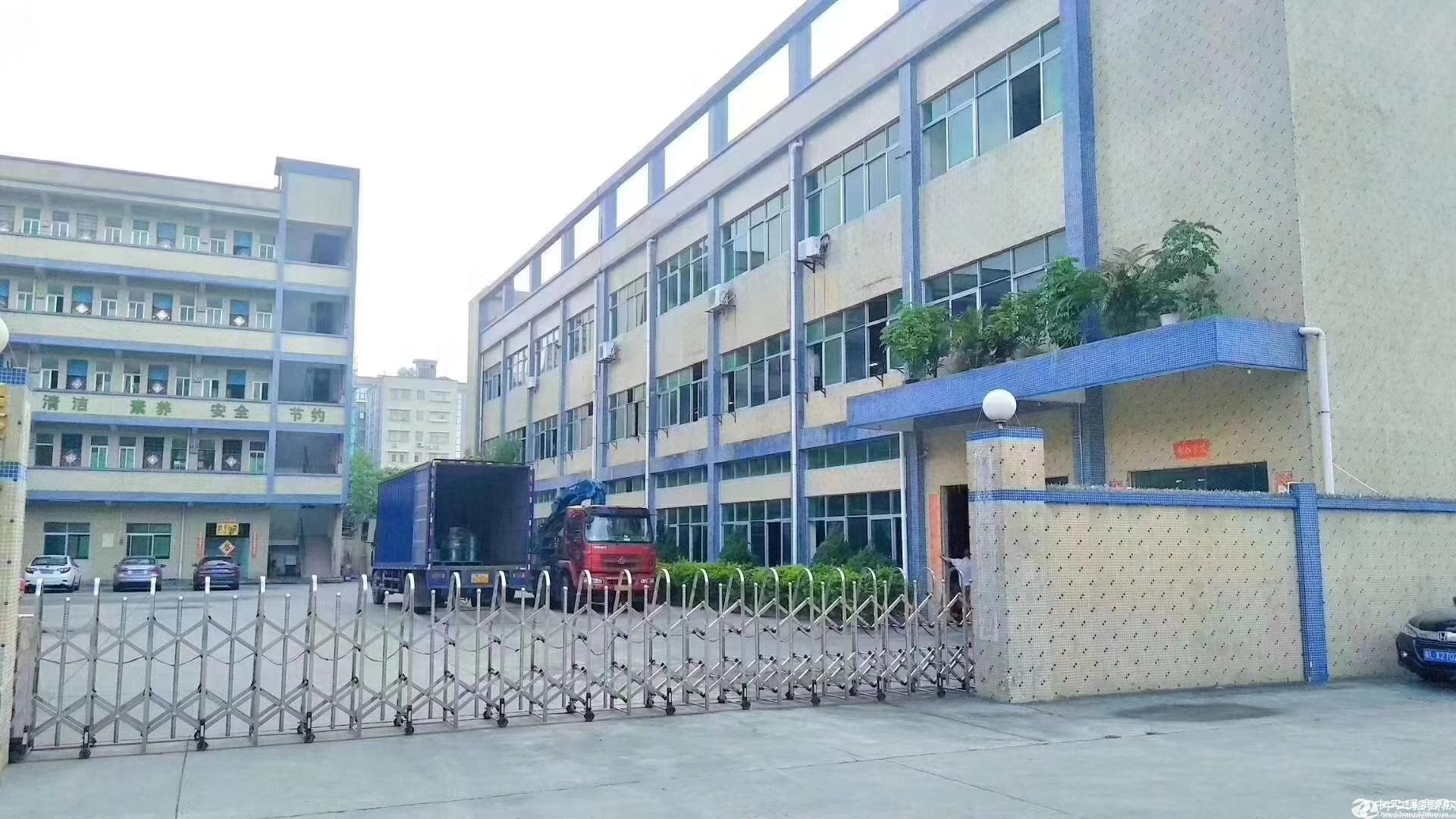 公明玉律第二工业区原房东独院5000平米实际面积招租.