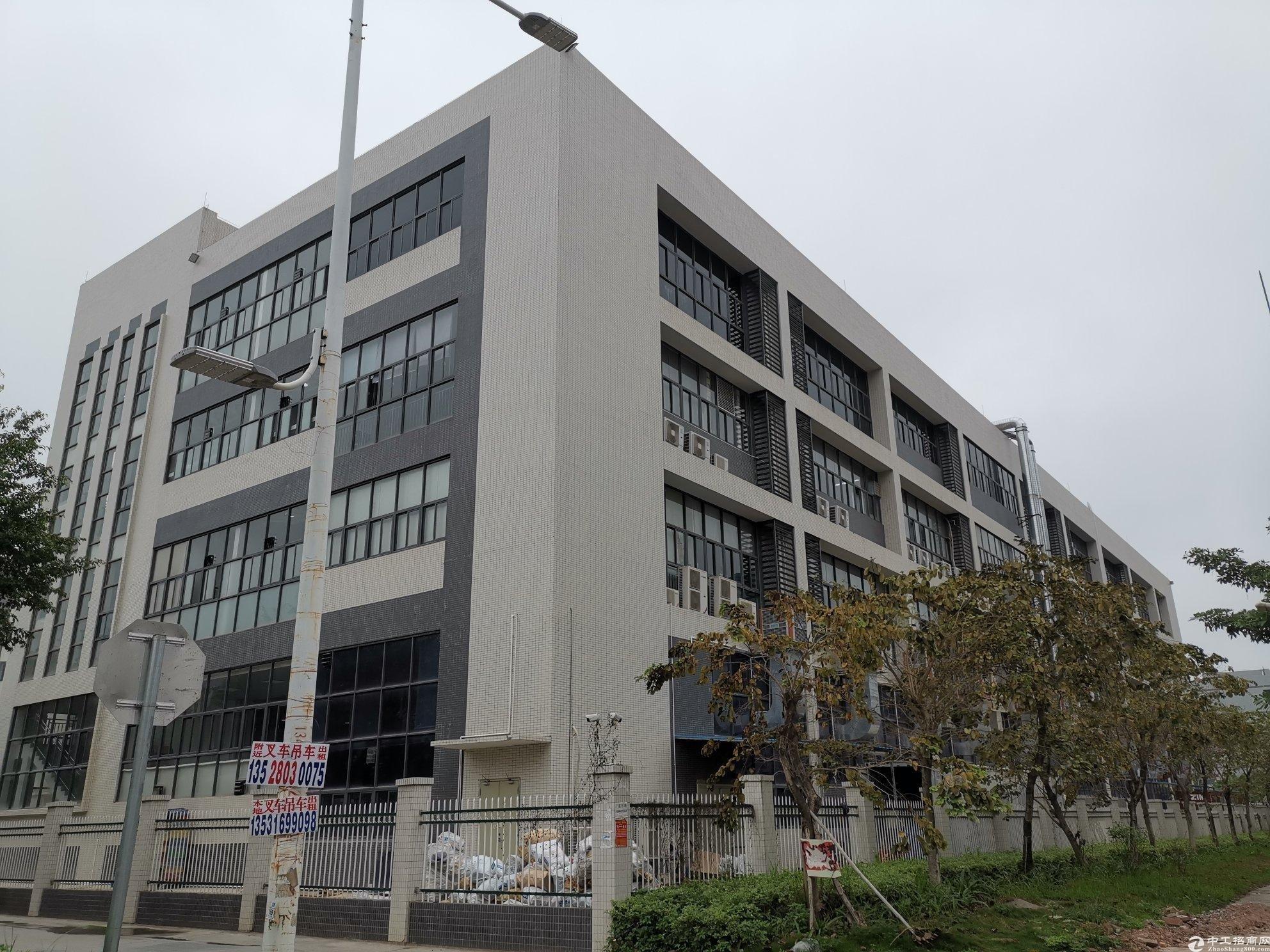惠州大亚湾688㎡/层红本标准厂房按层出售大小可分可按揭
