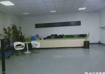 观澜桂花梅观高速出口新出楼上整层600平带精装修厂房出租图片1