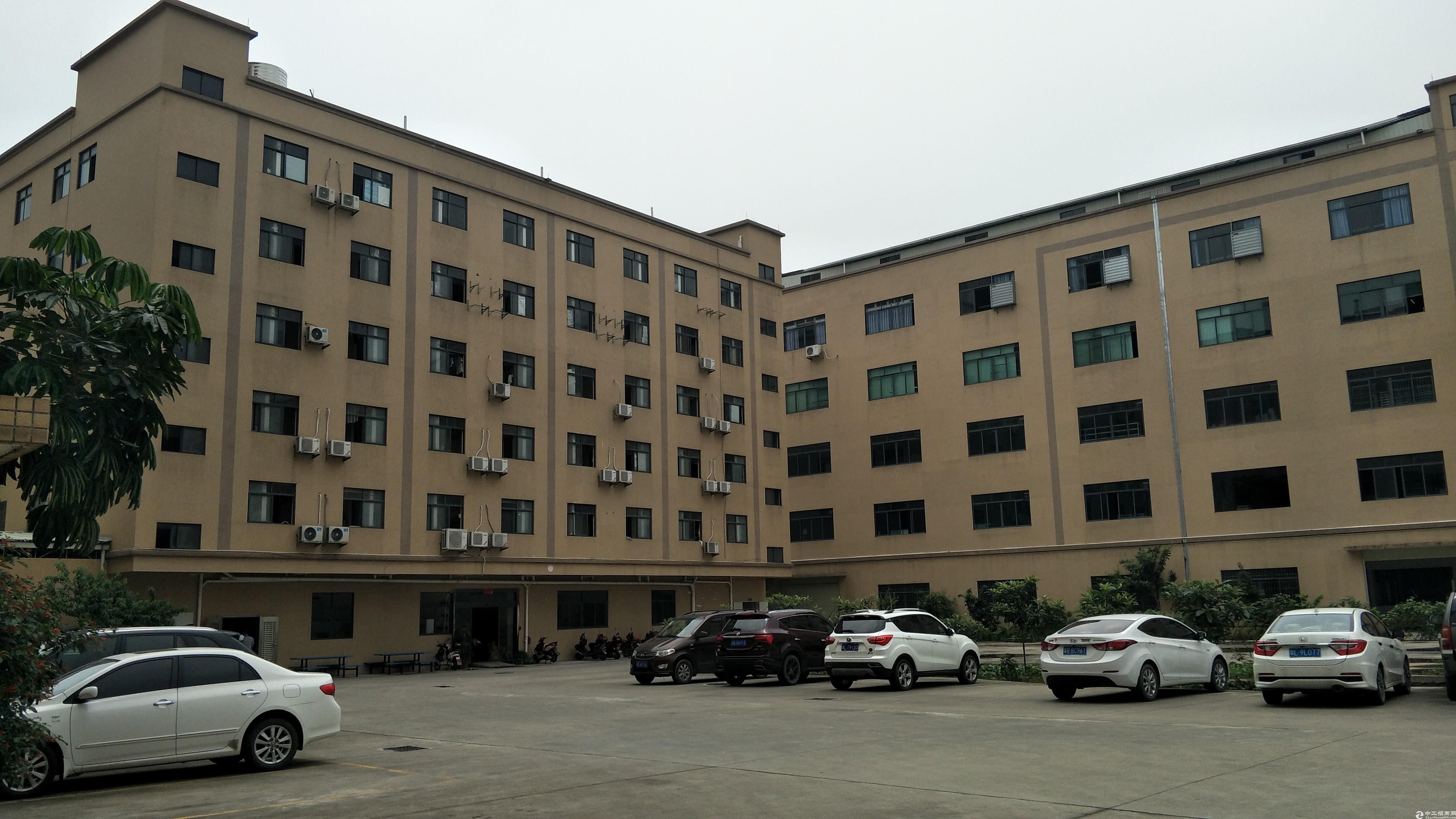 广州增城占地4700㎡建筑2500㎡全新国有双证厂房出售