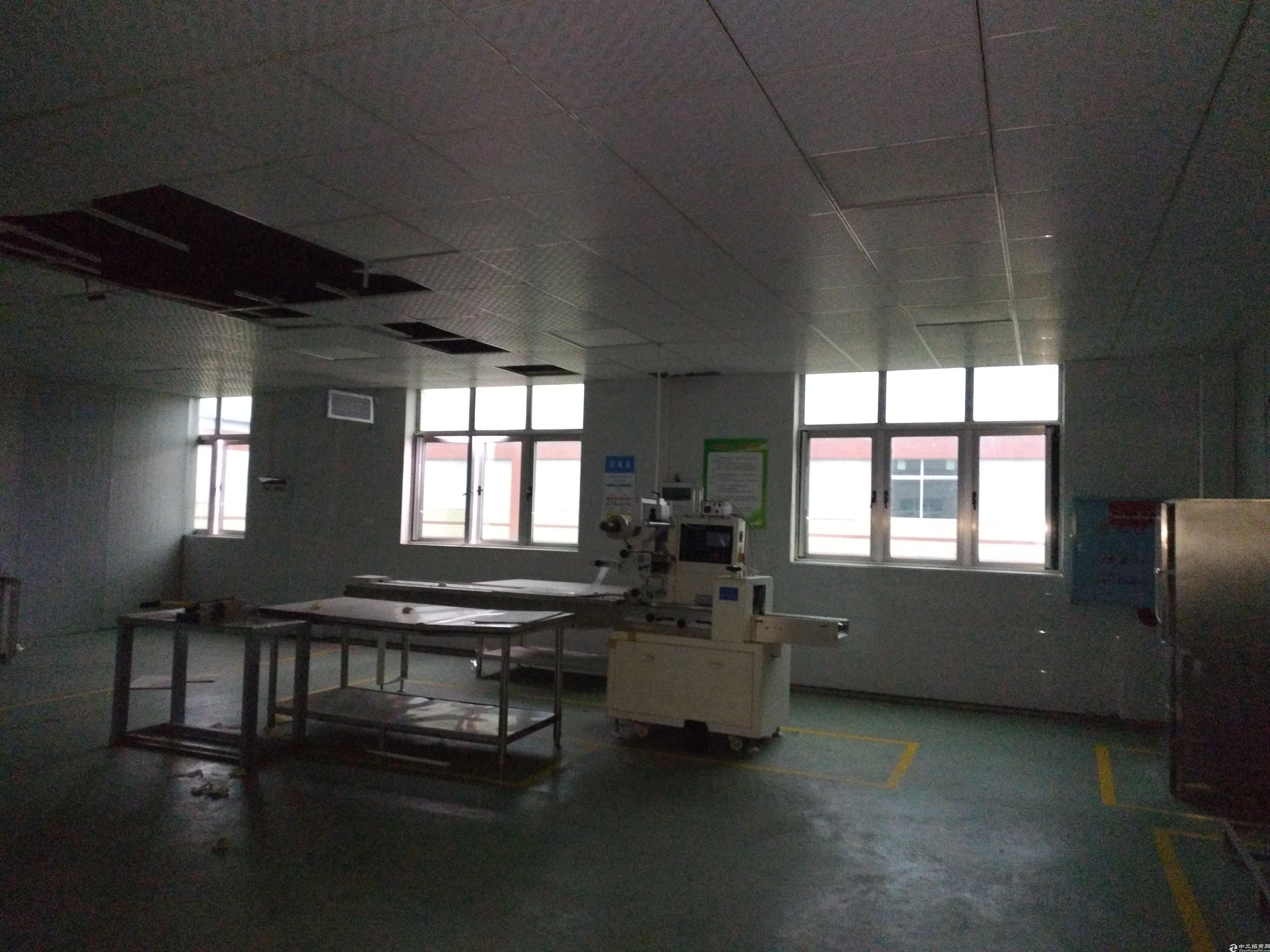 长沙个人标准食品厂房带装修带设备可环评带污水处理天然气