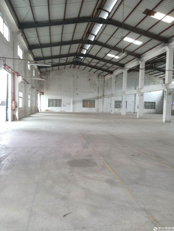 坪山比亚迪钢构厂房4000平层高8米空地大可做加工仓库