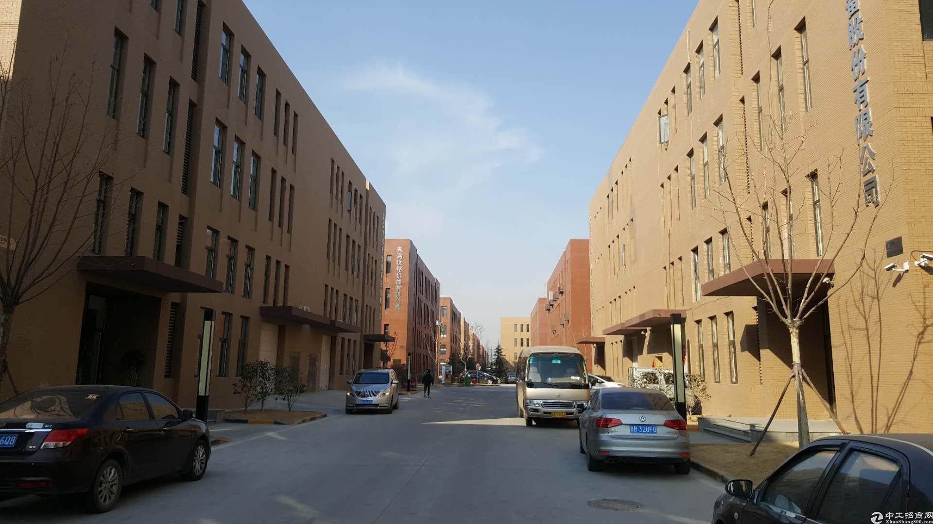 城阳5层独栋厂房,3000平,可研发生产办公用