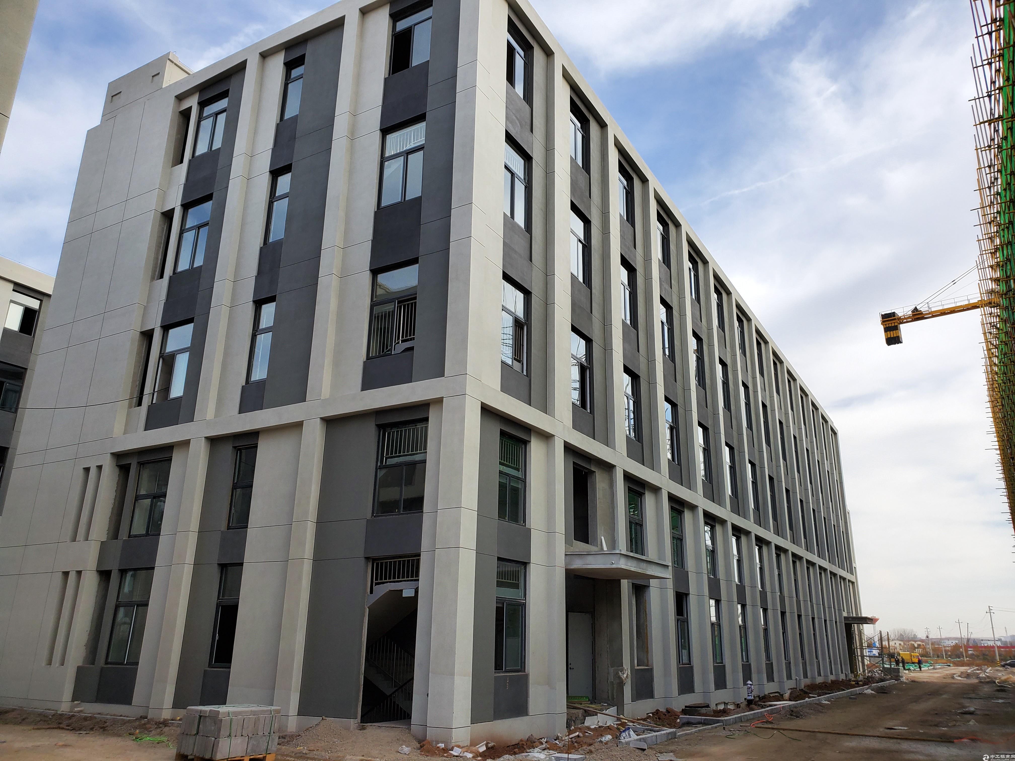 胶州3层厂房,混凝土框架,生产研发办公,可环评