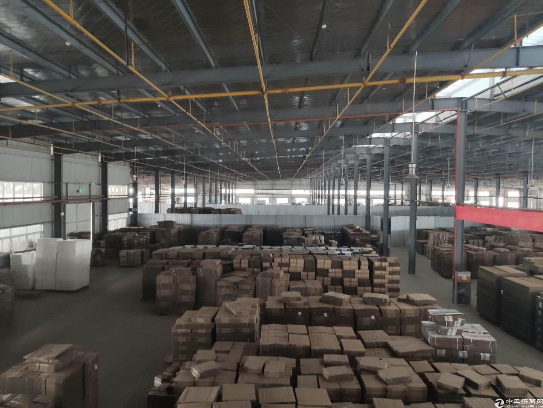 蔡甸奓山3600平米钢构丙二消防15元配套齐全交通便利