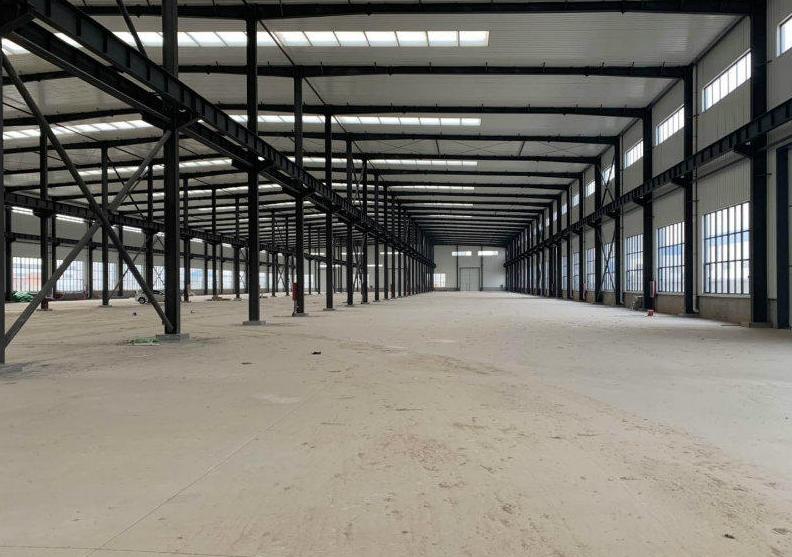 大型钢构厂房出租可做航车有环评利用率高