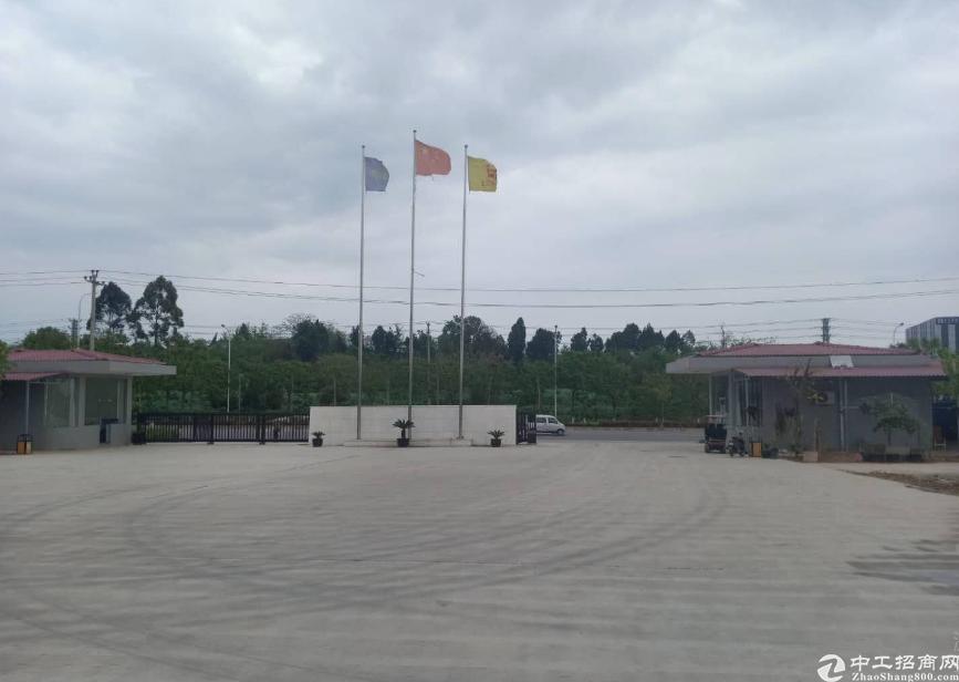出租德阳中江标准厂房13000平..独门独院