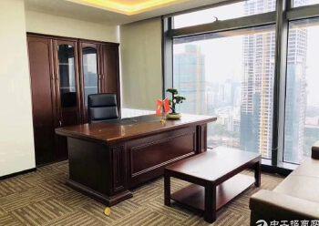深圳北站地铁口原房东红本写字楼336平55元豪华装修图片5