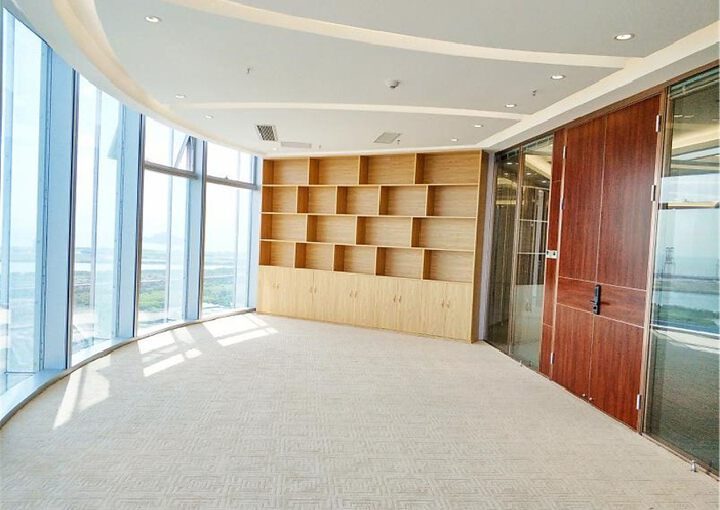 宝安中心区,易尚中心,精装505平,双面采光电梯口图片6