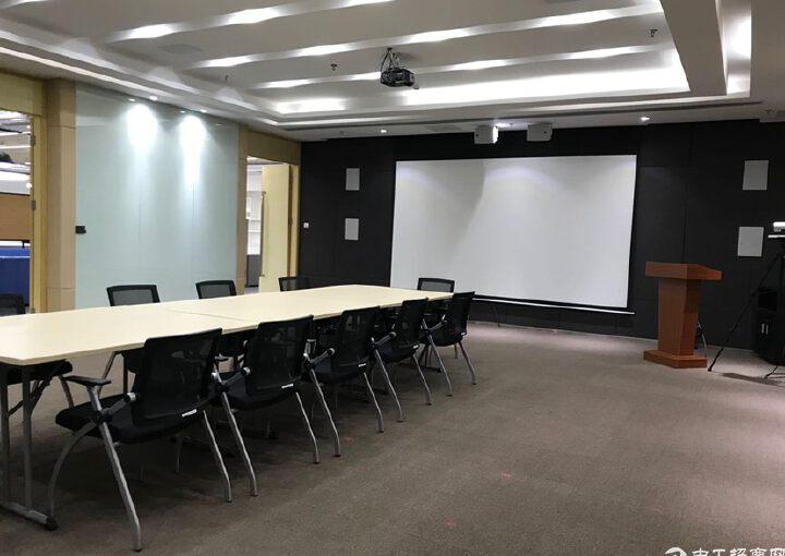 龙华民治地铁口原房东655平方豪华装修红本写字楼出租图片7