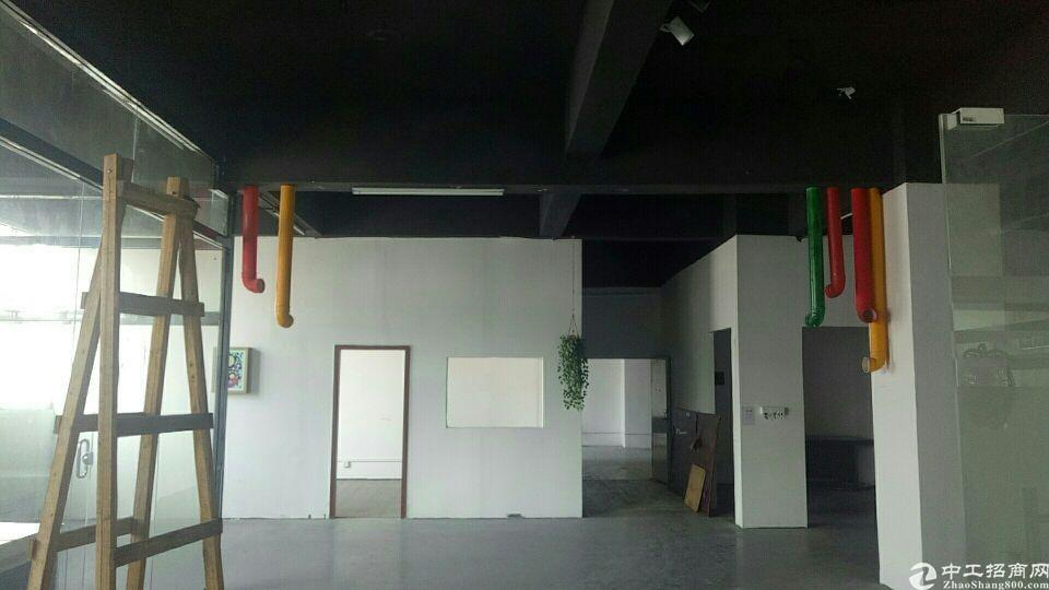 龙华汽车站附近楼上厂房出租,面积650平办公+仓库