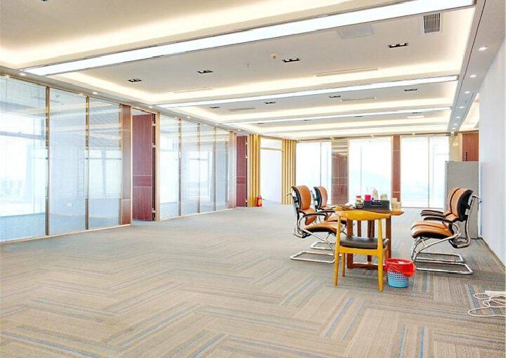 宝安中心区,易尚中心,精装505平,双面采光电梯口图片8
