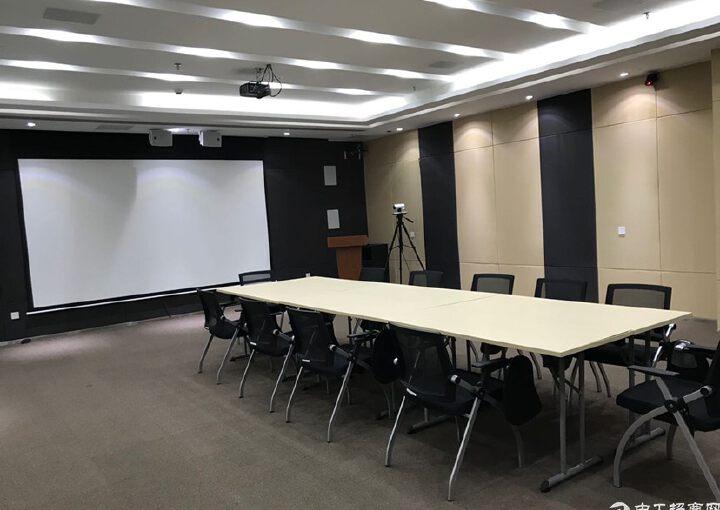 龙华民治地铁口原房东655平方豪华装修红本写字楼出租图片3