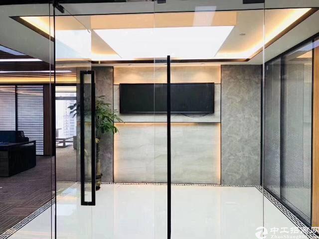 深圳北站地铁口原房东红本写字楼336平55元豪华装修图片8