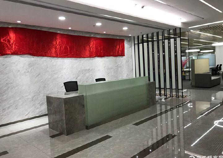 龙华民治地铁口原房东655平方豪华装修红本写字楼出租图片8