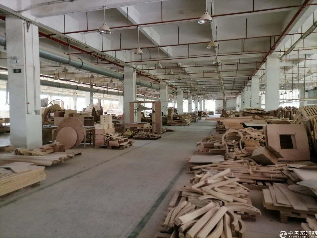 惠阳新圩原房东工业园钢构6600平实际面积出租可办环评