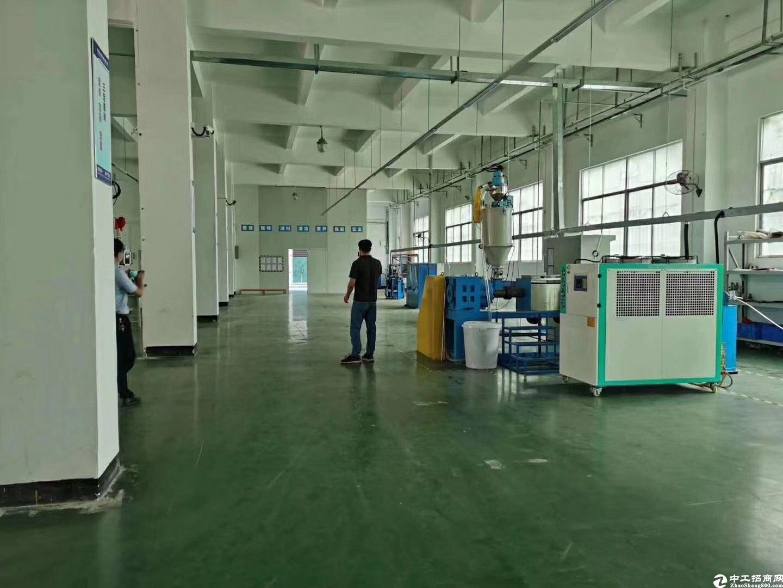 惠阳新圩塘吓标准工业园带精装修一楼1700滴水6米可办环评