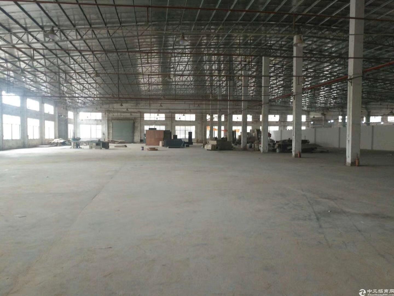 (家私)惠东高速路口原房东红本独栋钢构厂房出租2800平