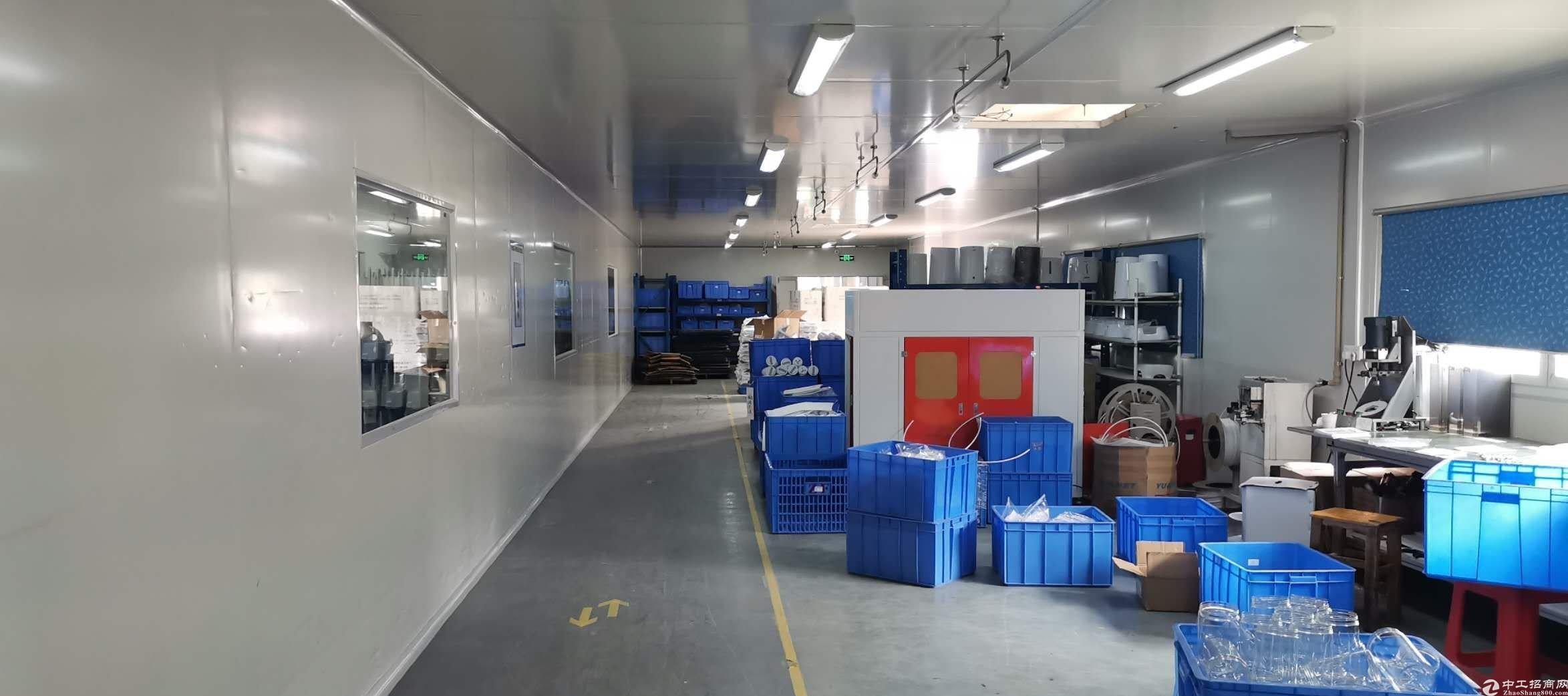 里水,新空出1150方十万级无尘车间,口罩,医疗器械