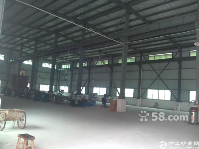 新出3000平米滴水9米高钢构带卸货平台