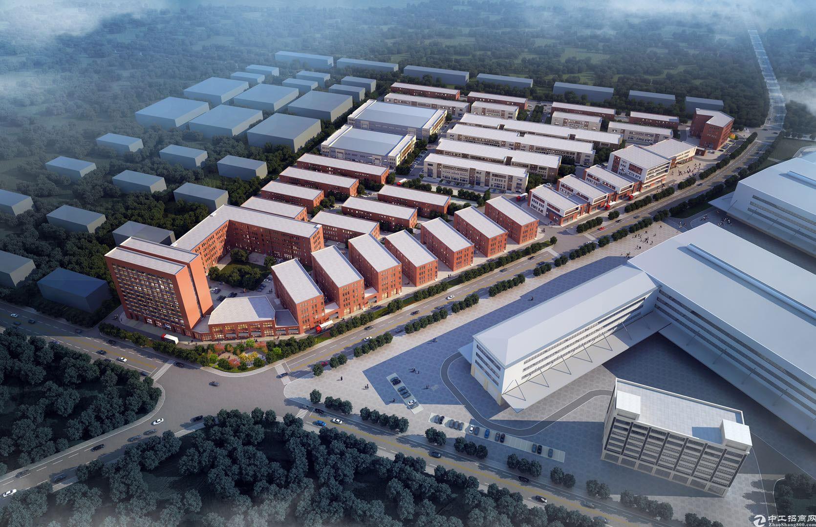 长清周边新建厂房,可环评600-10000平-图5