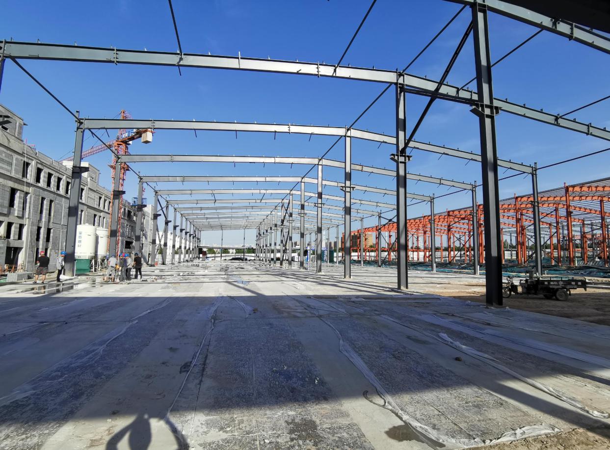 10米单层钢结构厂房,1600平米,后一套