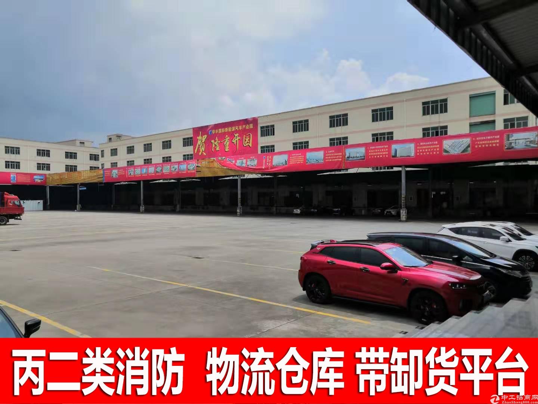 观澜观光路边带卸货平台一楼7米高厂房仓库9600平方出租