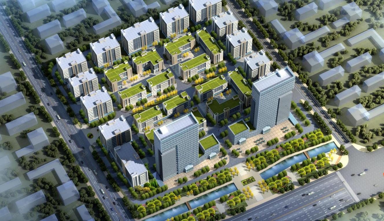 出售京港澳高速航海路东2k标准化厂房独栋厂房3600平