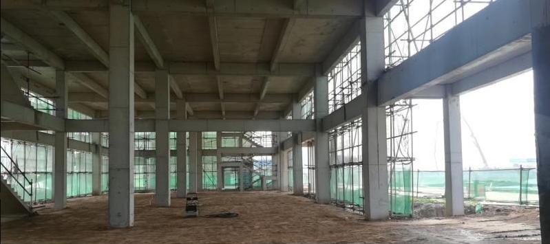 产业集聚区柱距10米独栋厂房可装行吊