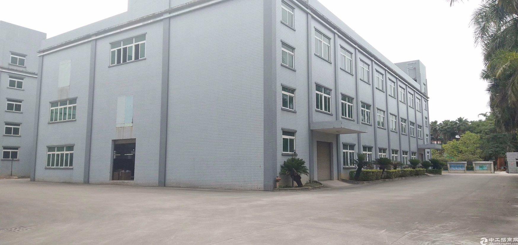 惠州稀有沙田1.3万㎡双证红本独院厂房在售!!