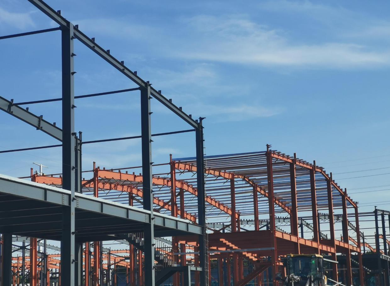 港区单层12米高钢构厂房出售,可架20吨桁车,可按揭