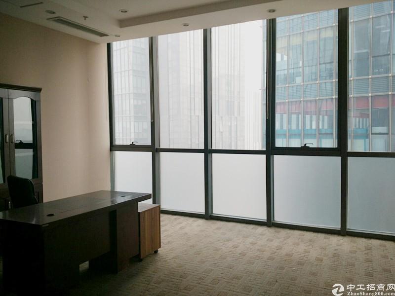 紧邻地铁核心区500平米精装写字楼出租