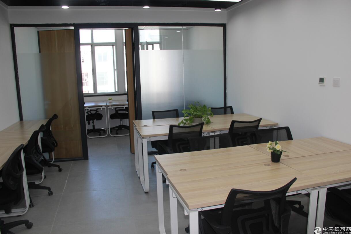 为创业者精心打造10至40平米精装办公室,适合创业者办公入住