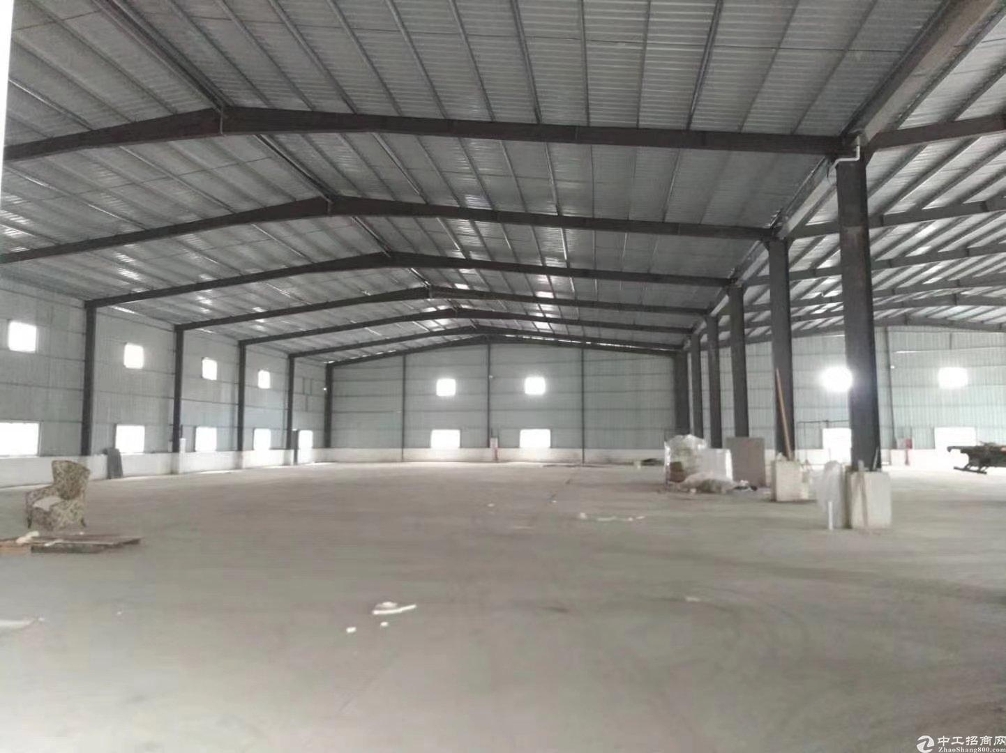 惠阳8米高钢构厂房3600平方可分租,可办环评