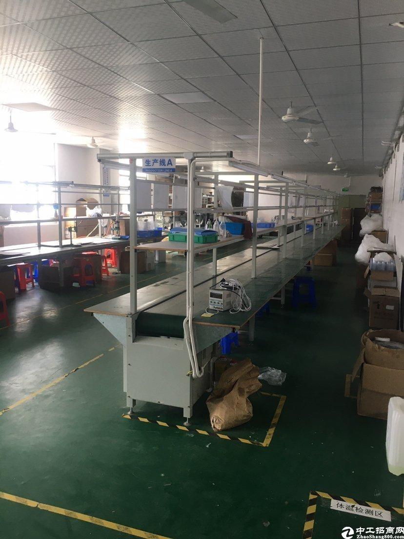 惠阳区镇隆205国道边红本厂房出租2850平