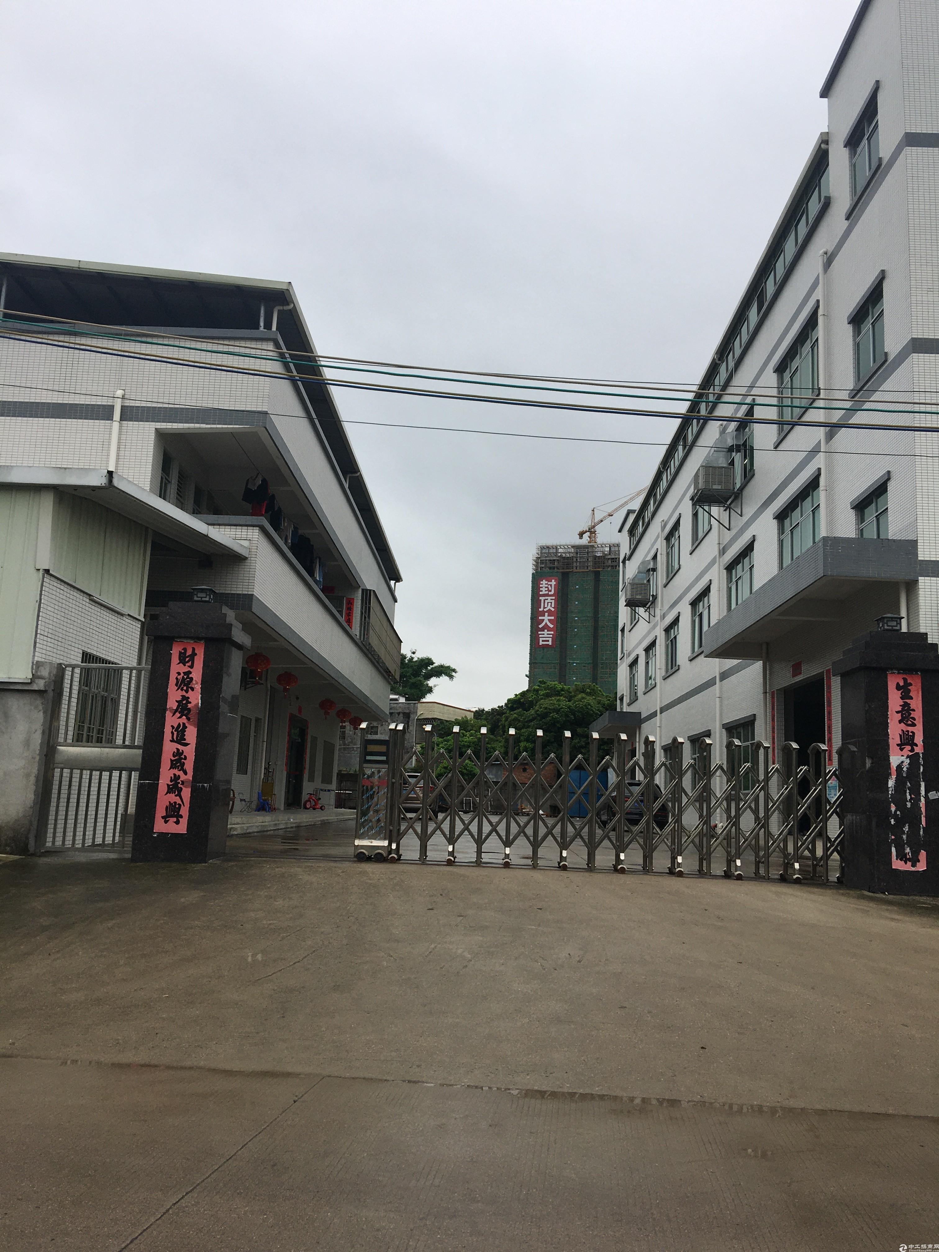 新圩镇占地5000㎡建筑6100㎡村委厂房出售
