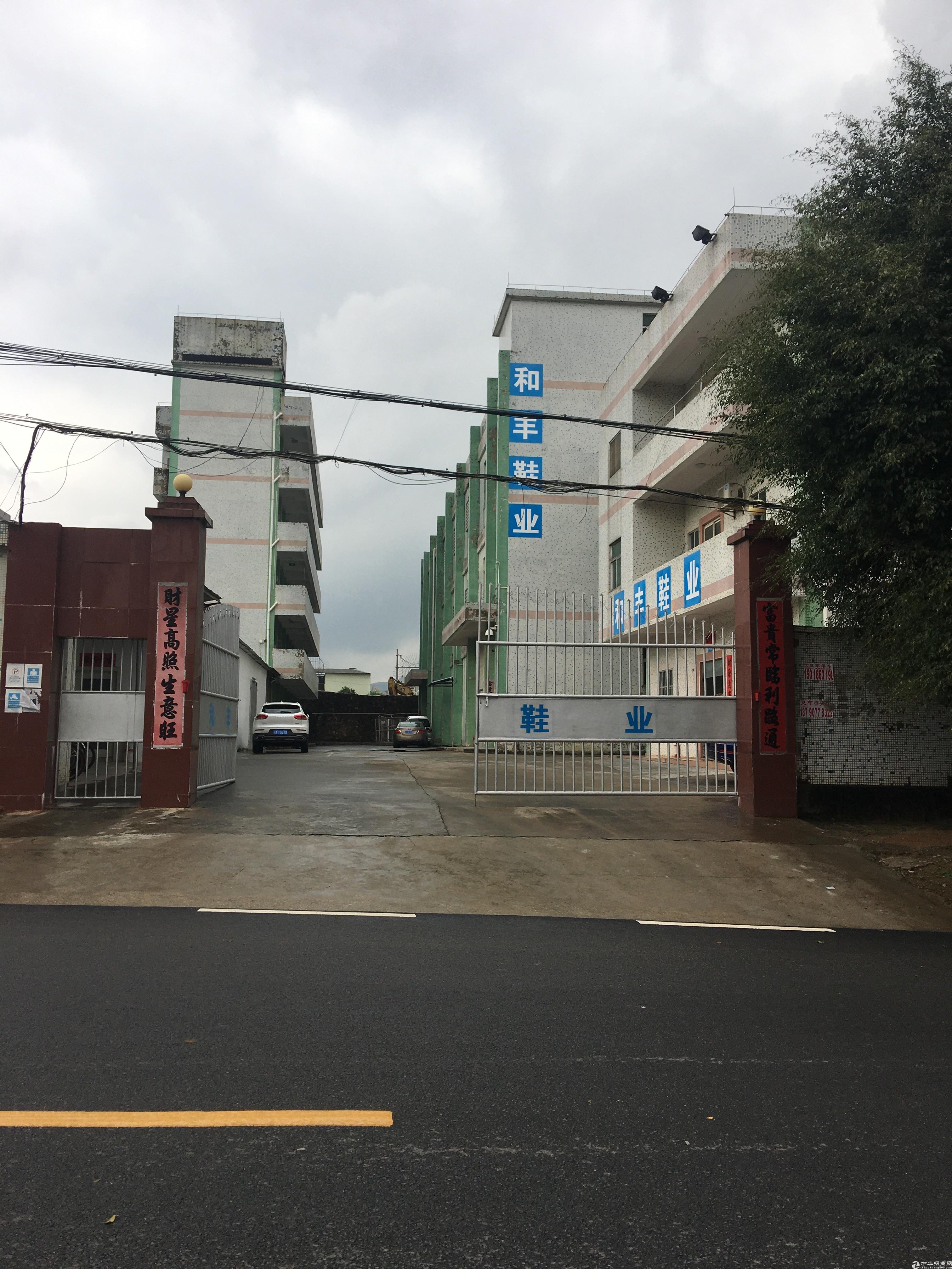 新圩镇占地3500平建筑6000平村委厂房出售