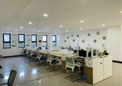成熟园区264平精装办公室可独立办公室免费会议室班车