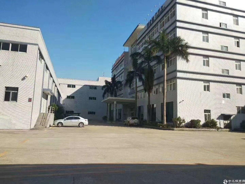 惠州大亚湾工业园内新出整层面积2200平米低价出租可办环评