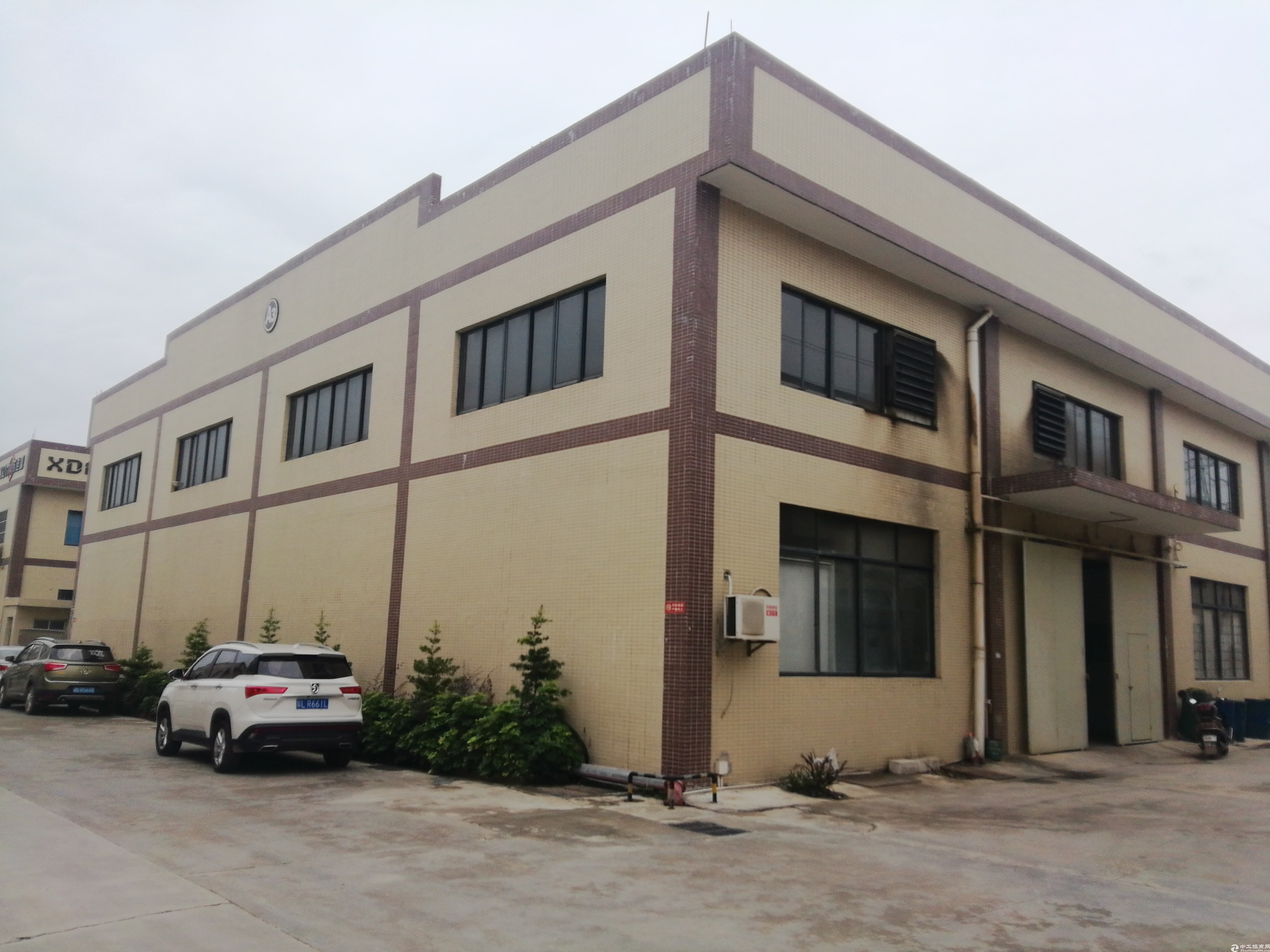 惠州镇隆占地2千㎡钢构村委厂房2千㎡售486万31年