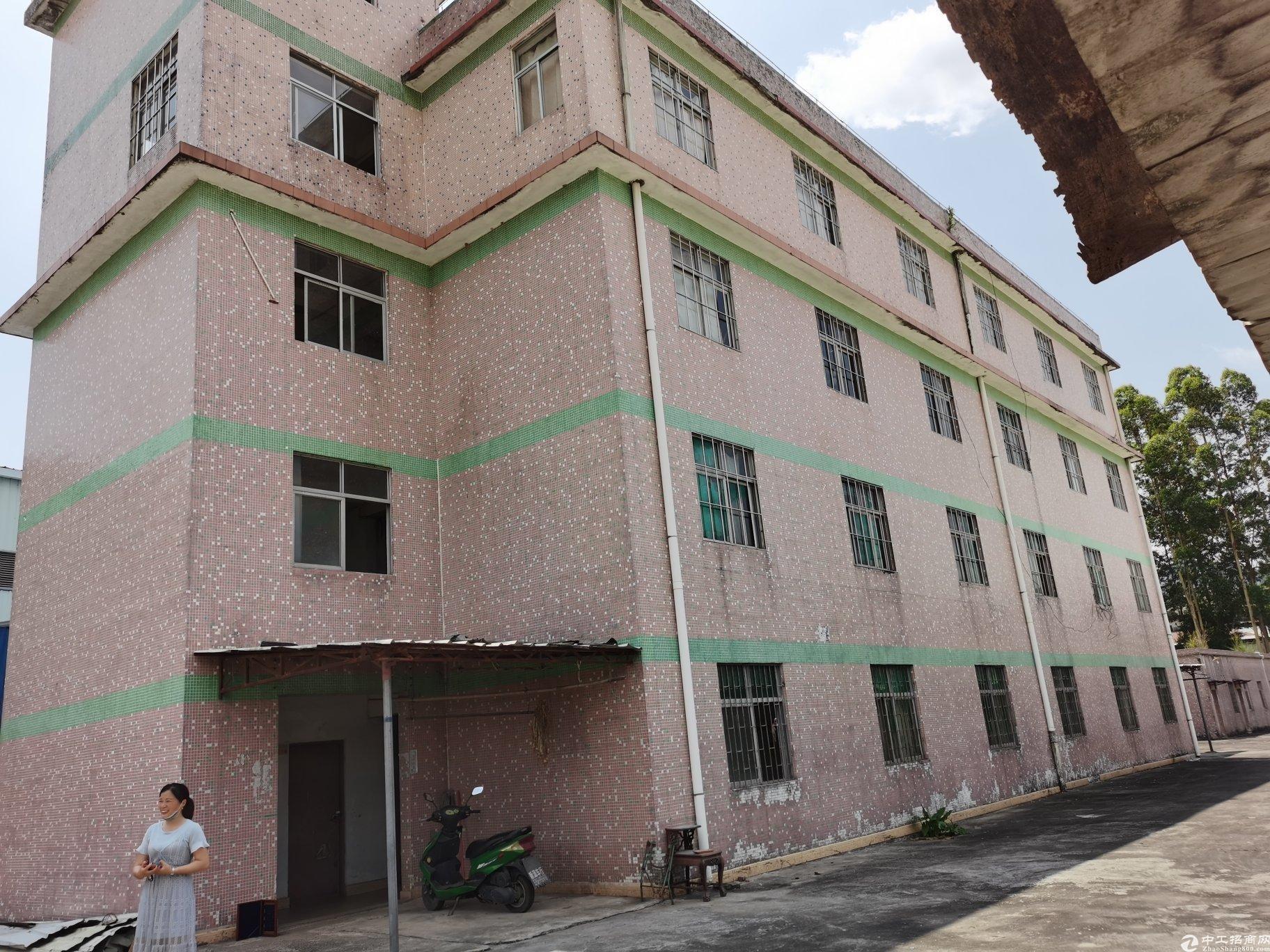 惠阳区秋长镇占地4500平建筑2400平村委合同厂房出售
